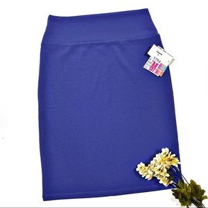 ☕️5/$25 Lularoe Medium Cassie Pencil Skirt new